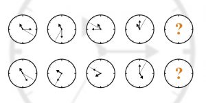 Cómo resolver una sucesión de relojes