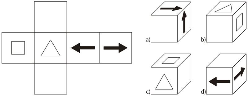 Razonamiento espacial cubos