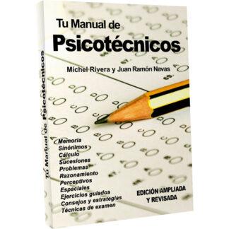 Libro Tu Manual de Psicotécnicos Míchel Rivera Oposiciones