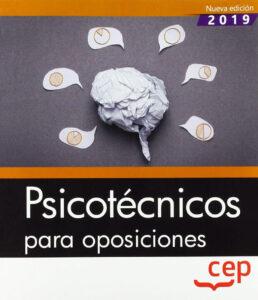Manual de psicotécnicos para oposiciones cubierta delantera