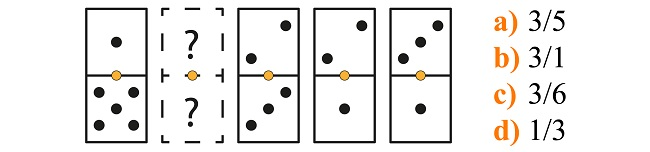 Psicotécnico de dominó explicado 1
