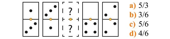 Psicotécnico de dominó explicado