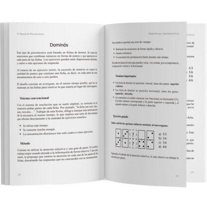 Libro Tu Manual de Psicotécnicos Edición Ampliada páginas 3